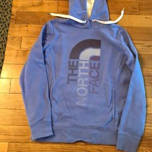 North Face pullover hoodie  size medium